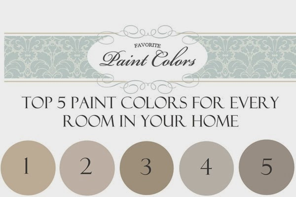 Reader Question Top 5 Paint Colors For Every Room In