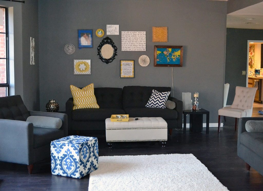 Nursery favorite paint colors blog - Grey paint living room ...