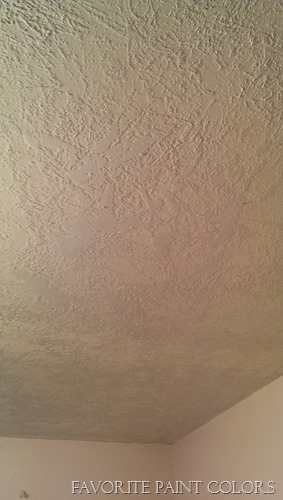 knockdown texture for ceiling