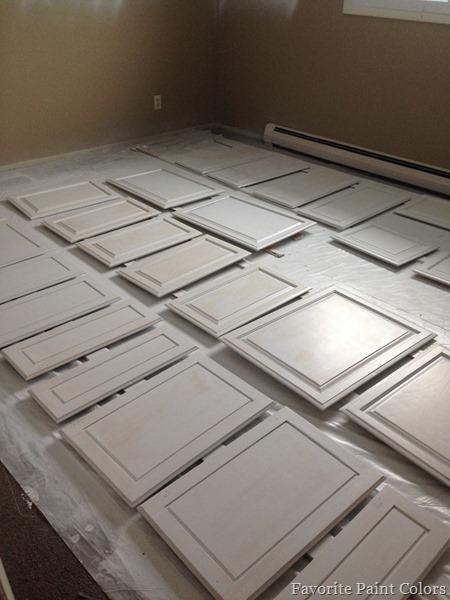 kitchen cabinets progress