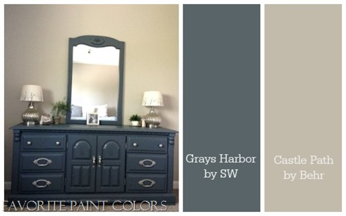 Painted Dresser Grays Harbor The Perfect Blend Of Navy