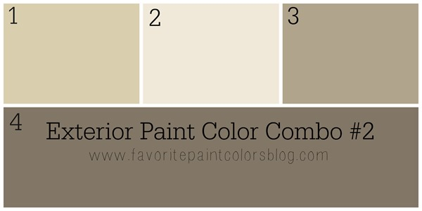 exterior paint color combinations what color to paint the. Black Bedroom Furniture Sets. Home Design Ideas