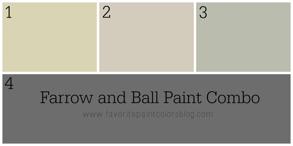 Farrow And Ball Paint Combination Favorite Paint Colors Blog