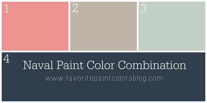 Naval Paint Color Combination Favorite Paint Colors