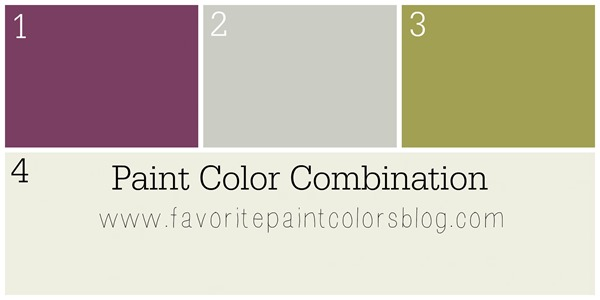 Paint color combo