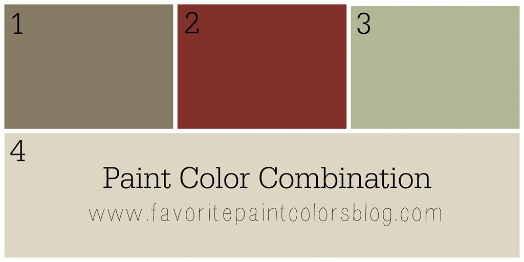 paint color combination favorite paint colors