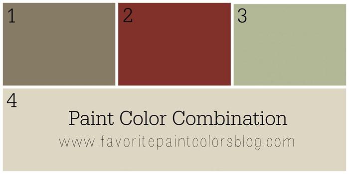 Paint Color Combination - Favorite Paint Colors