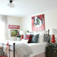 Christmas guest room paint colors