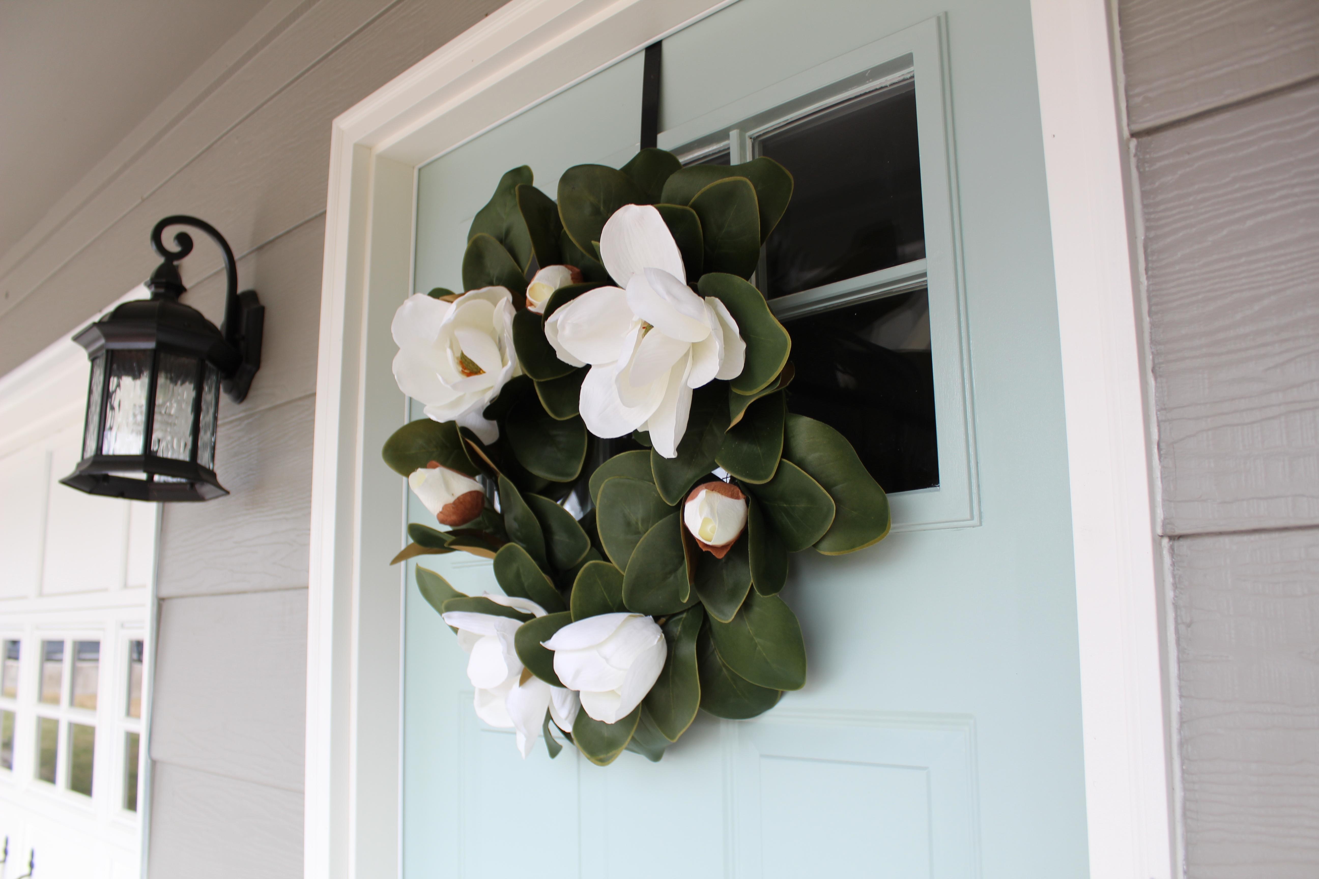 Our New Front Door Spring Exterior Door Colors
